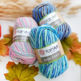 YarnArt Jeans Crazy, land