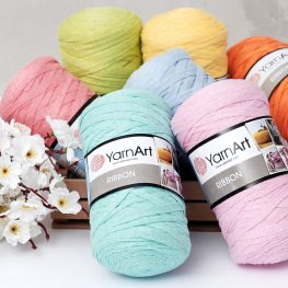 YarnArt ribbon ip, spring